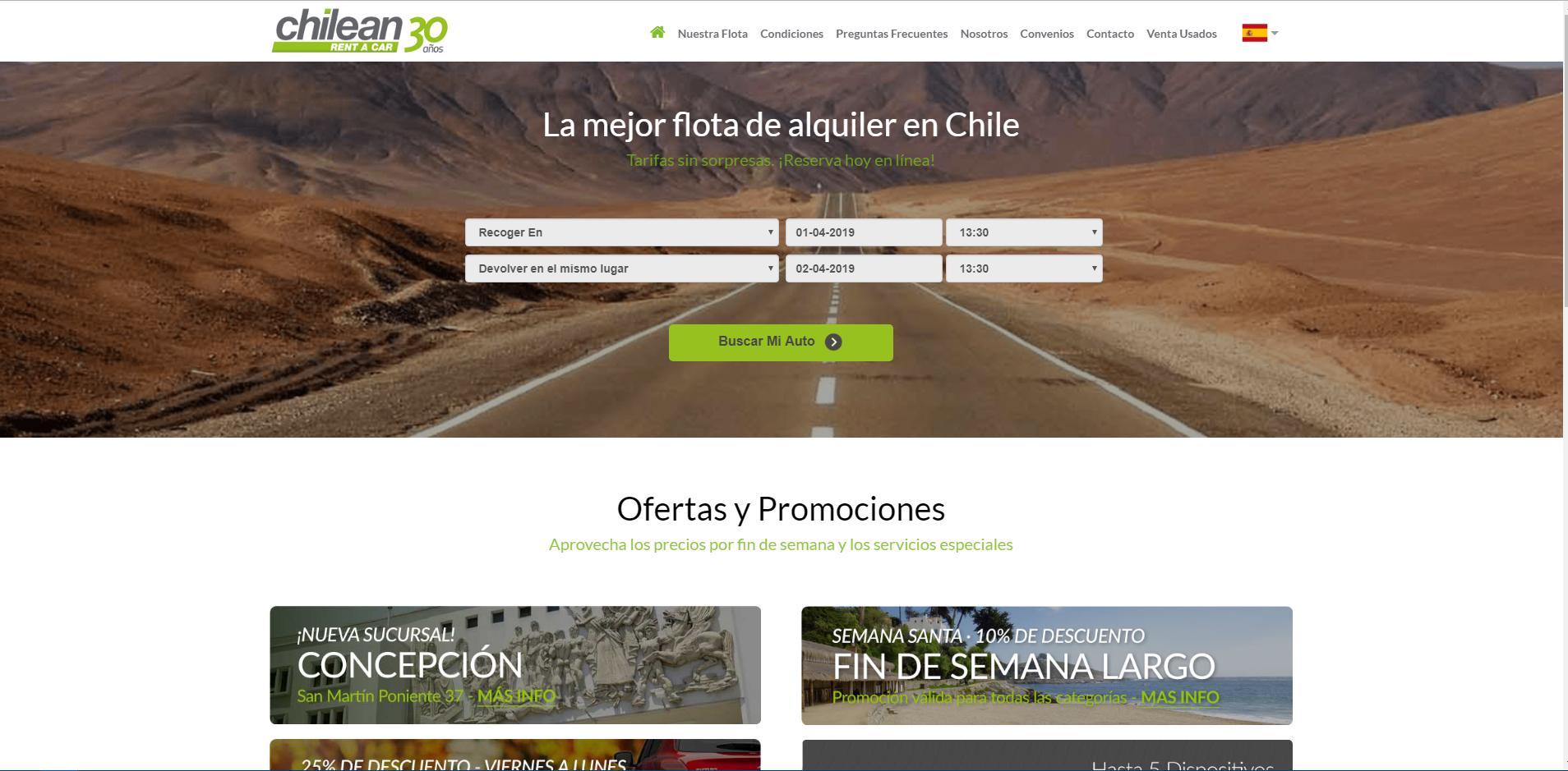 Chileanrentacar.cl gallery image 1